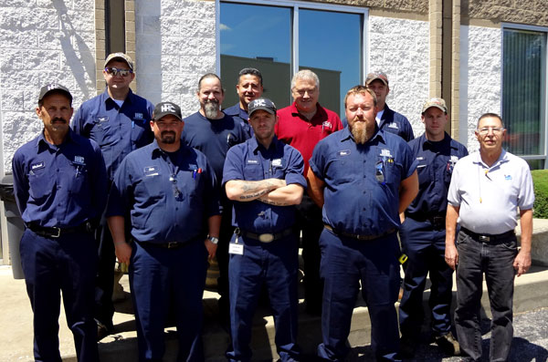 HHC On-Site chrome Services Team